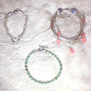 Bundle of 3 bracelets!